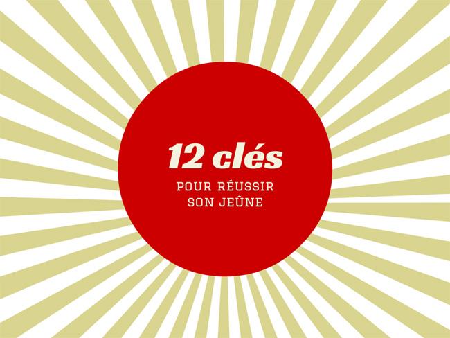 12 cles pour réussir un jeûne