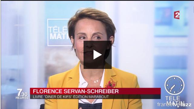 Interview de Florence Servan-Schreiber dans Télématin