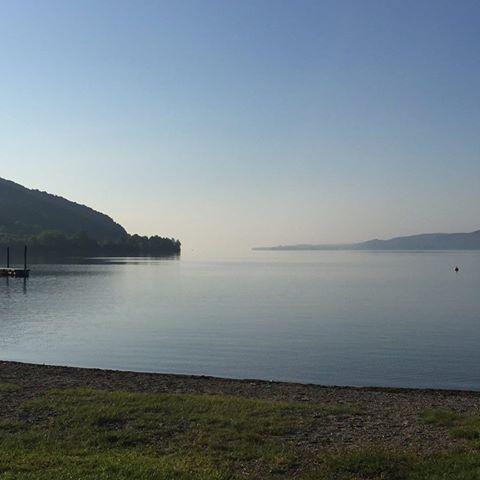 Mon lac au petit matin.