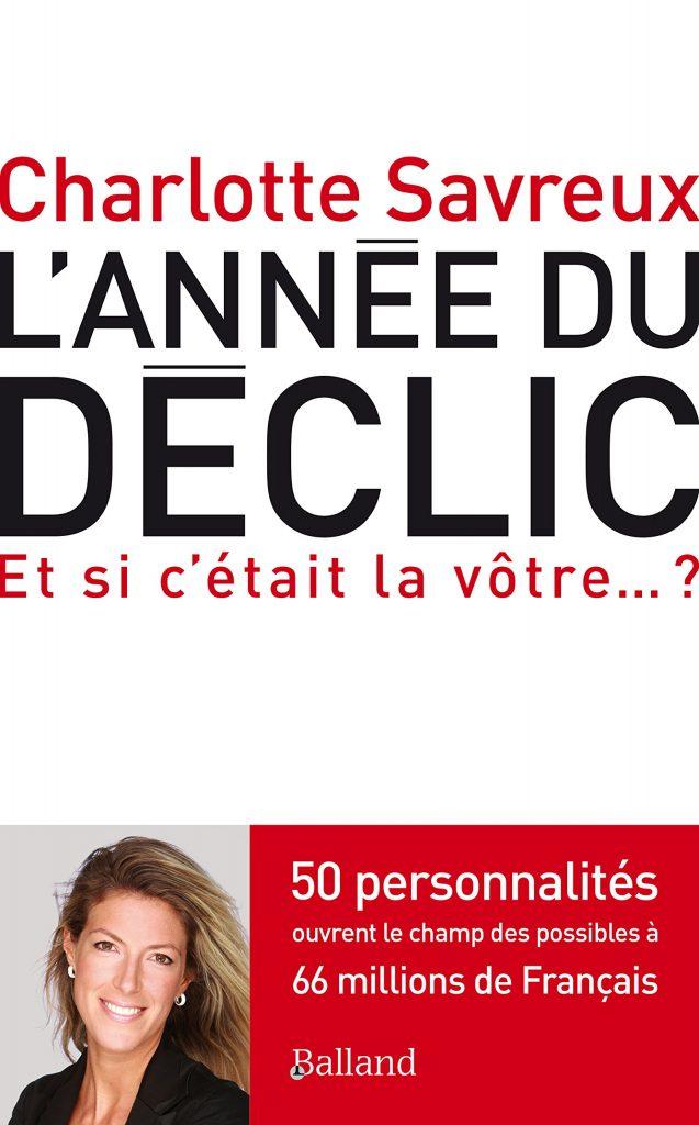 Rencontre avec Charlotte Savreux pour la sortie de son livre L'année du Déclic