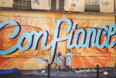 Toqué Frères : du street art positif