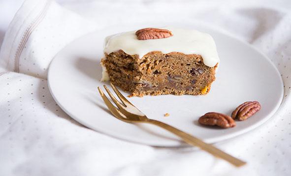 La recette du carrot cake vegan