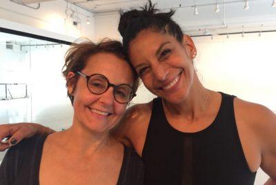 Avec la créatrice de l'IntenSati, Patricia Moreno