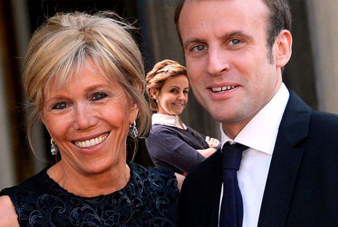Emmanuel, Brigitte et moi !