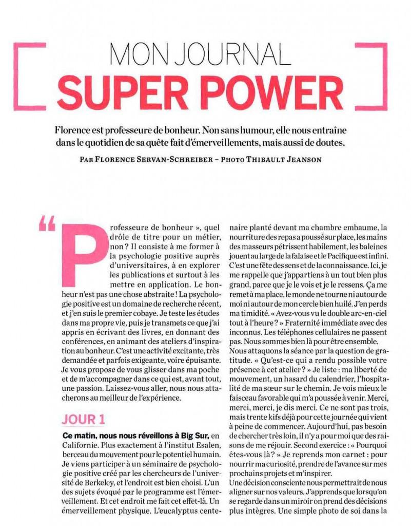 Hors Série Psychologies Magazine sur le bonheur