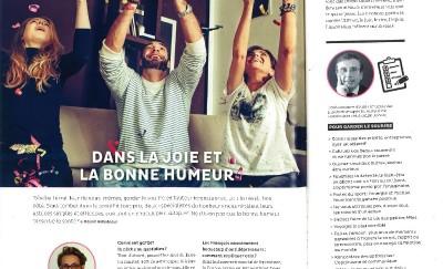 Interview de Florence Servan-Schreiber dans Up