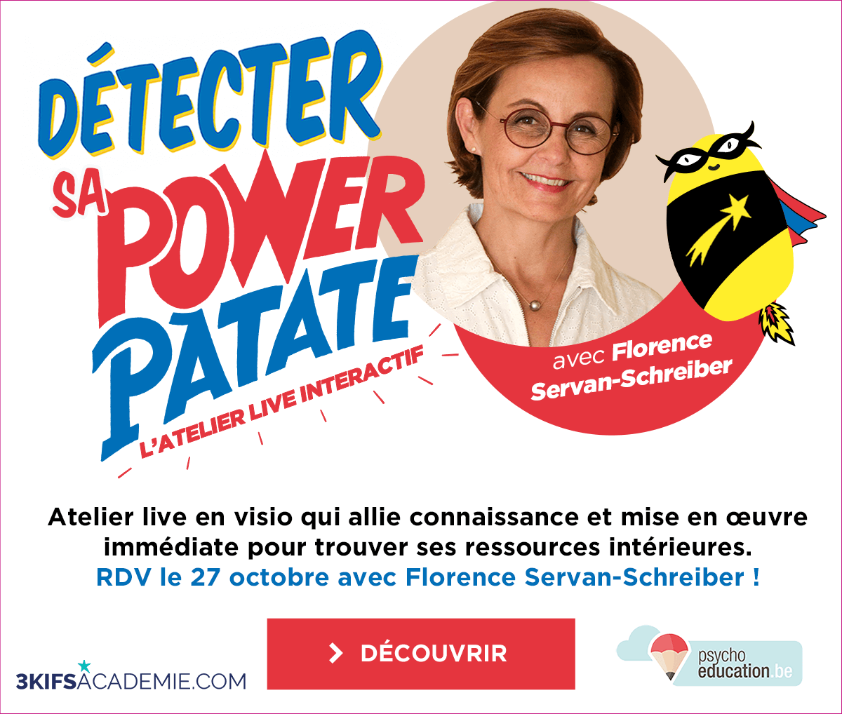 DÉTECTER SA POWER PATATE – L'ATELIER LIVE INTERACTIF