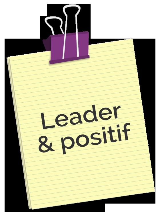 Conférence Leader & positif