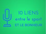 10 liens entre le sport et le bonheur