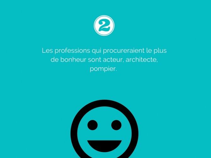 les professions du bonheur