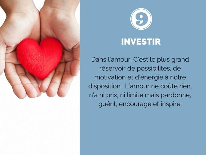 Investir  - Diaporama 10 exercices pour développer votre Optimisme
