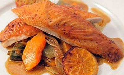 Recette de Chapon farci aux figues et à la pancetta