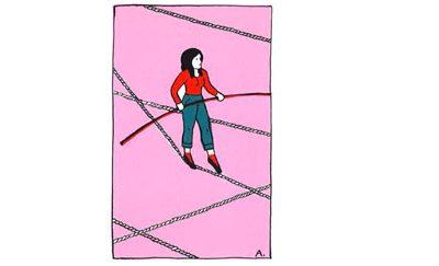 a vie en équilibriste, une chronique de Florence Servan-Schreiber