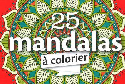 25 mandalas à colorier Florence Servan-Schreiber