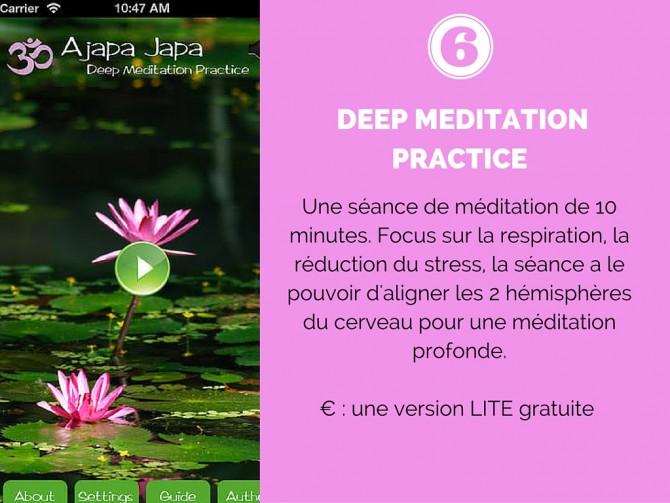 Deep Meditation Practice