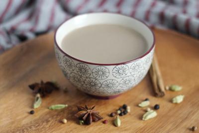 la recette de Coco Chai Latte de Mango & Salt