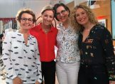 Florence Servan-Schreiber, Anne Sophie Lapix, Isabelle Pailleau et Audrey Akoun