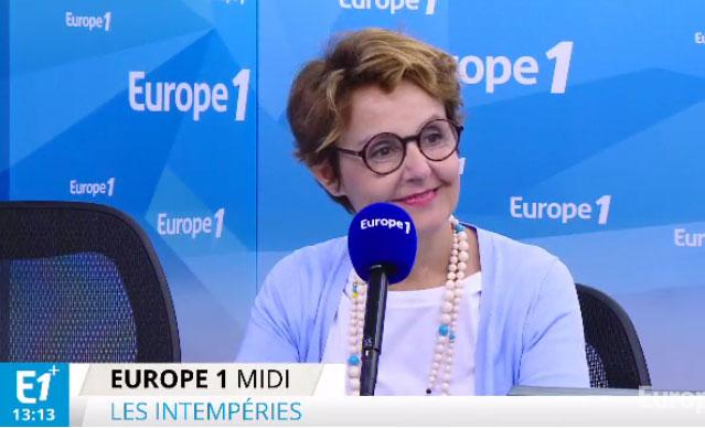 Florence Servan-Schreiber invitée par Jean-Michel Aphatie sur Europe 1
