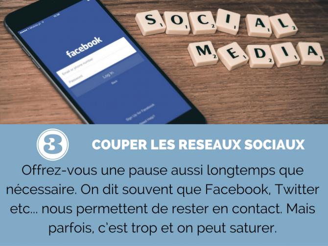 Couper les réseaux sociaux