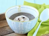Soupe champignons et châtaignes