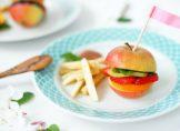 Recette du burger fruit, idéal pour les enfants !