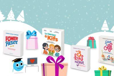 Des cadeaux 100% Kif pour Noël