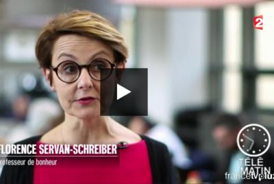 Comment améliorer la qualité de vie au travail ? Florence Servan-Schreiber répond à Télématin