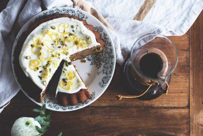 Recette du Gâteau au citron et à la purée d'amande