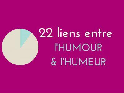 infographie : 22 liens entre l'humour et l'humeur