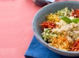 Salade vitaminée tiède